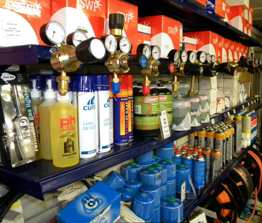 Complete Range of Gas Accessories Stocked