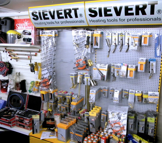 Full Range of Sievert & Bullfinch Torches and Tools