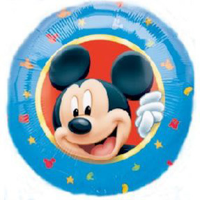 LICENSED FOIL- MICKEY MOUSE HEAD